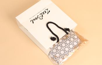 曲光包装纸袋定制,环保,简约
