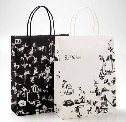 40组手提袋设计图片参考-手提袋定制-杭州曲光包装