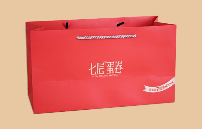 食品手提纸袋 曲光包装