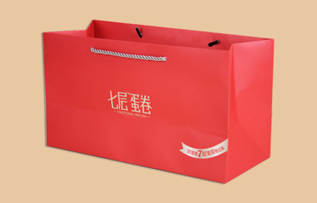 食品手提袋 曲光包装