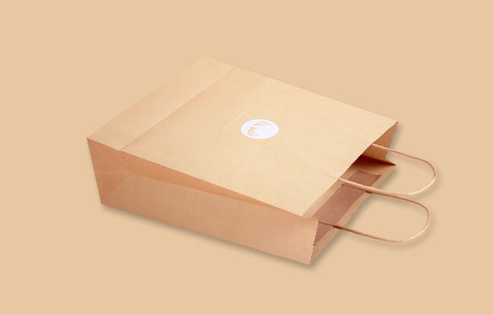 食品纸袋牛皮纸袋_曲光包装