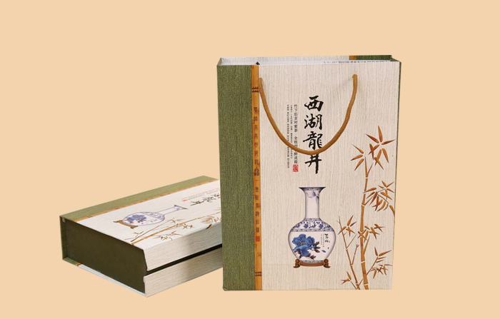 西湖龙井茶叶纸袋印刷