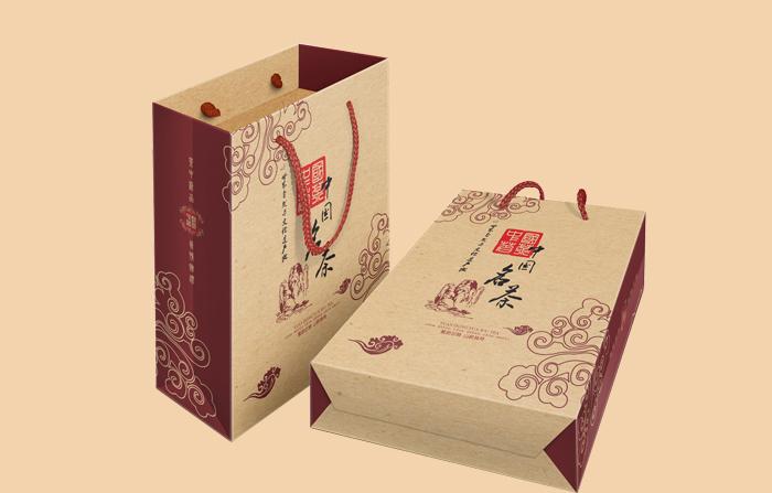 中国名茶茶叶纸袋印刷