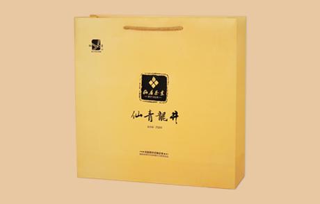 仙青龙井茶叶纸袋
