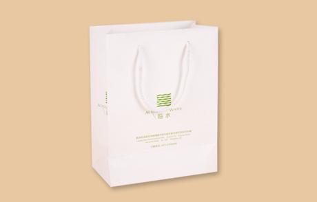 临水品牌礼品纸袋