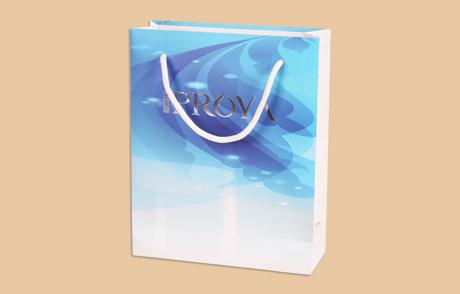 定制化妆品纸袋